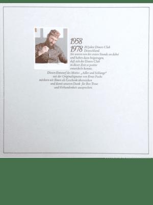 Buch Cover Kunstwerk von Ernst Fuchs
