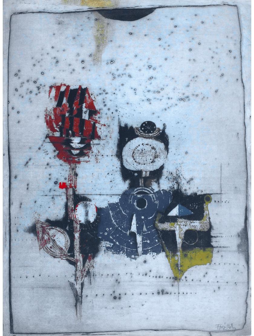 Johnny Friedländer: Original Radierung